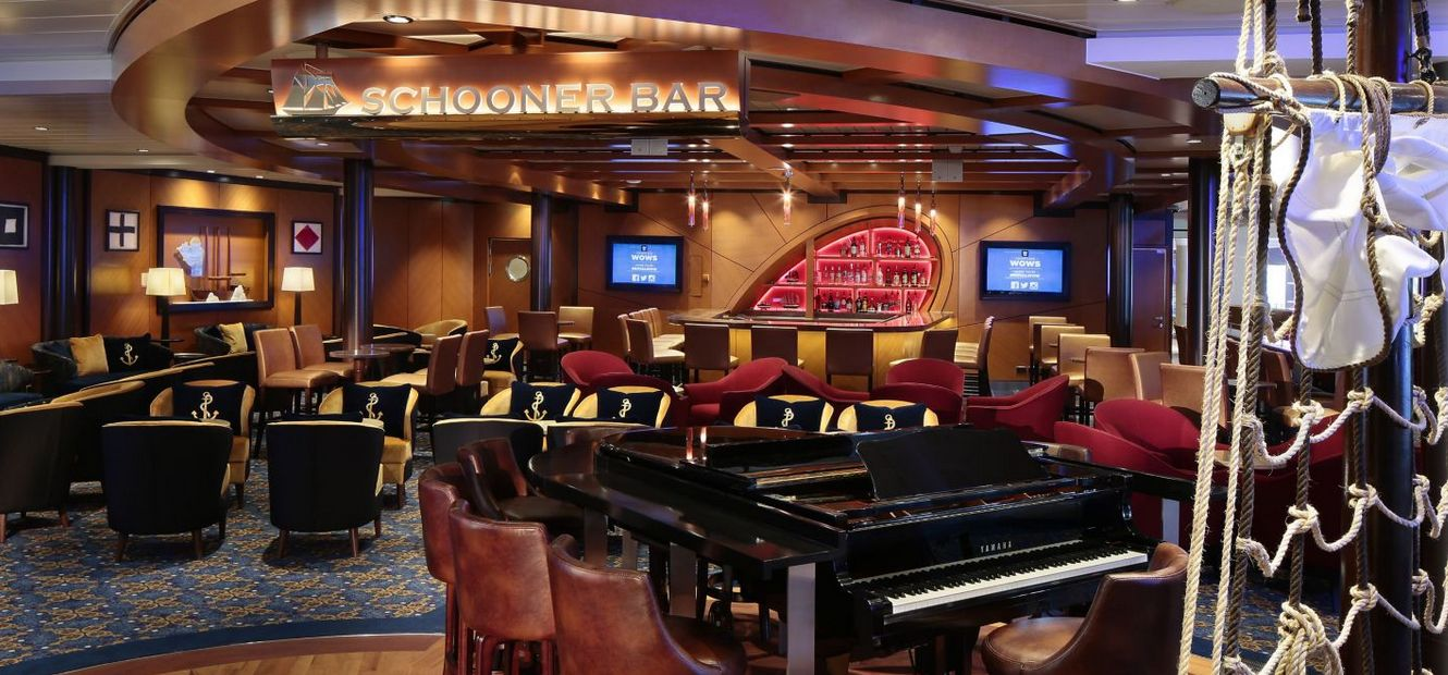 Schooner Bar na Allure of the Seas