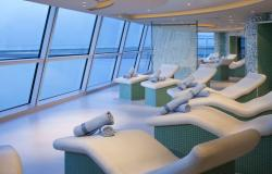 Celebrity Reflection - Celebrity Cruises - sauna v Persian Garden na lodi