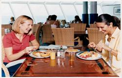Navigator of the Seas - Royal Caribbean International - oběd na lodi