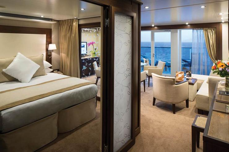 Seabourn Sojourn - Seabourn Cruise Line - Penthouse Suite
