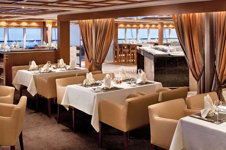 Seabourn Sojourn - Seabourn Cruise Line - The Colonnade
