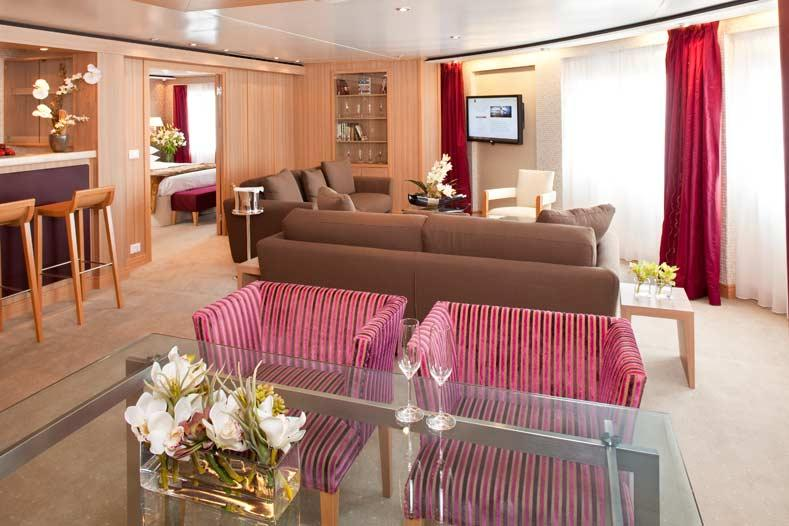 Seabourn Sojourn - Seabourn Cruise Line - Signature Suite