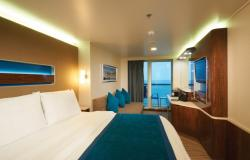 Norwegian Getaway - Norwegian Cruise Lines - The Haven Suite kajuty s balkonem / terasou