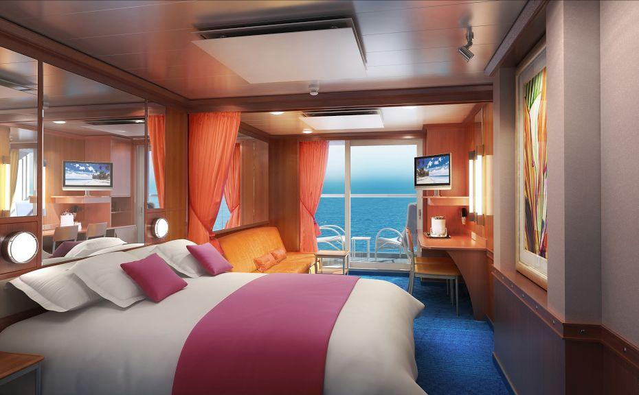 Norwegian Jade - Norwegian Cruise Lines - The Haven Suite kajuty s terasou