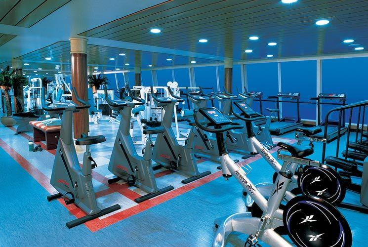 Norwegian Sun - Norwegian Cruise Lines - fitness centrum