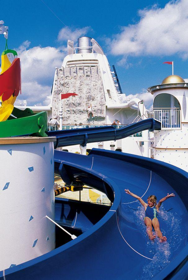 Adventure of the Seas - Royal Caribbean International - tobogán