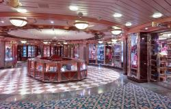 Enchantment of the Seas - Royal Caribbean International - klenotnictví