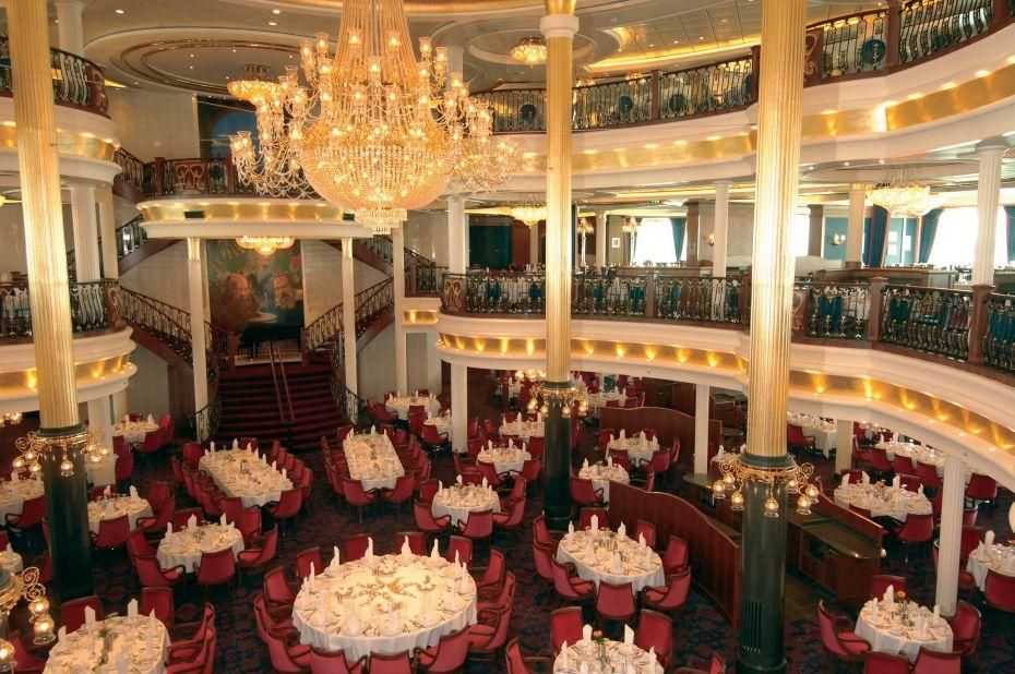 Freedom of the Seas - Royal Caribbean International - hlavní restaurace