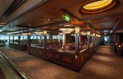 Serenade of the Seas - Royal Caribbean International - bar ve vnitřku lodi