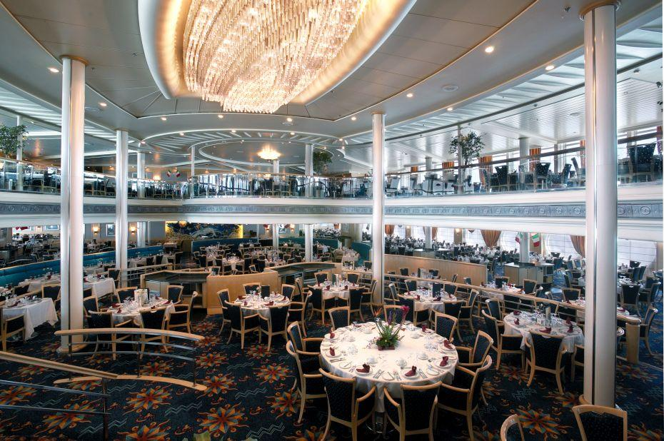Vision of the Seas - Royal Caribbean International - Hlavní restaurace – The Aquarius