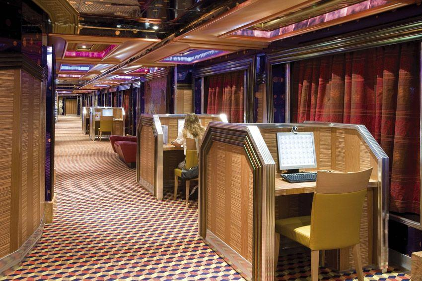 Costa Serena - Costa Cruises - internet point